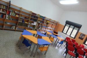 La nuova biblioteca della Scuola secondaria di Teulada