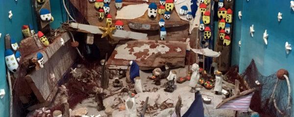 «In miniera tra i presepi» 2017: il presepe della 2A - Scuola secondaria di Sant'Anna Arresi