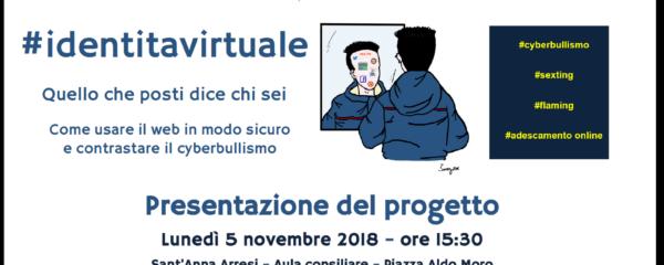 Presentazione del progetto #identitavirtuale